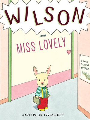 Cover of Wilson and Miss Lovely