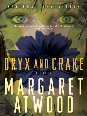 Click this cover for a(n) eBook sample of Oryx and Crake.