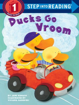 Click this cover for a(n) eBook sample of Ducks Go Vroom