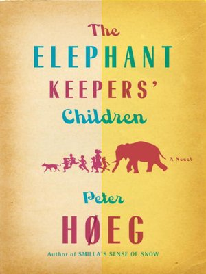 Cover of The Elephant Keepers' Children