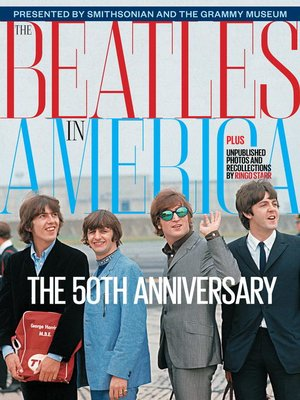 Click this cover for a(n) eBook sample of The Beatles in America.