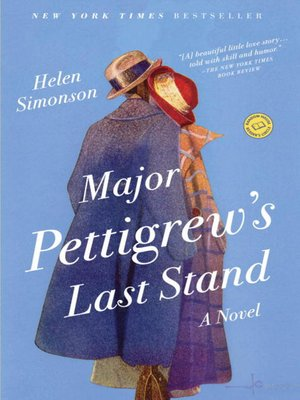 Click this cover for a(n) eBook sample of Major Pettigrew's Last Stand.