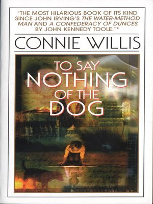 Click this cover for a(n) eBook sample of To Say Nothing of the Dog.