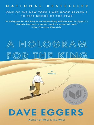 Click this cover for a(n) eBook sample of A Hologram for the King.