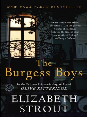 Click this cover for a(n) eBook sample of The Burgess Boys.
