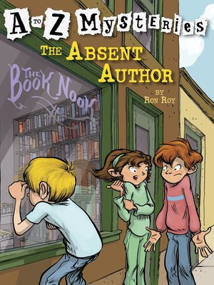 Click this cover for a(n) eBook sample of The Absent Author.