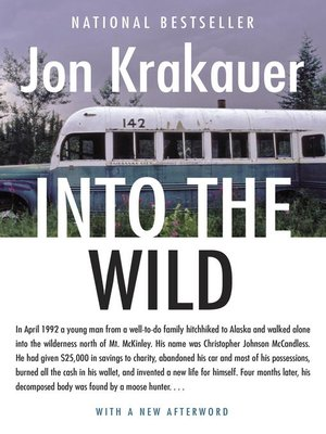 Click this cover for a(n) eBook sample of Into the Wild.