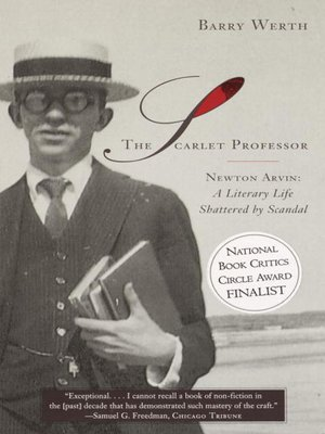 Click this cover for a(n) eBook sample of The Scarlet Professor