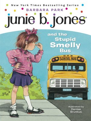 Click this cover for a(n) eBook sample of Junie B. Jones and the Stupid Smelly Bus.