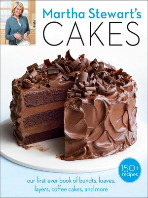 Cover of Martha Stewart's Cakes