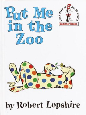 Click this cover for a(n) eBook sample of Put Me in the Zoo.
