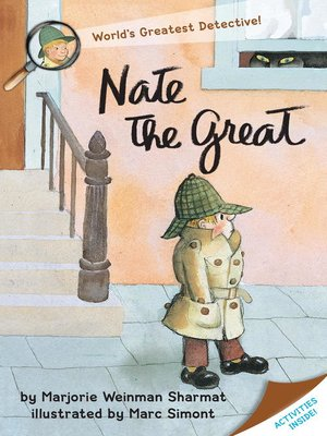 Click this cover for a(n) eBook sample of Nate the Great.