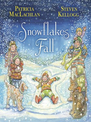 Click this cover for a(n) eBook sample of Snowflakes Fall