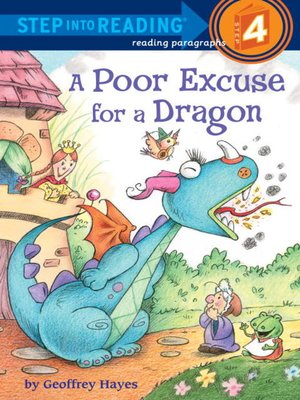 Click this cover for a(n) eBook sample of A Poor Excuse for a Dragon.