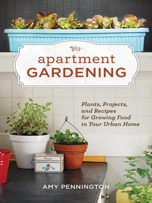 Click this cover for a(n) eBook sample of Apartment Gardening