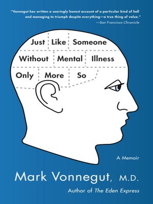 Click this cover for a(n) eBook sample of Just Like Someone Without Mental Illness Only More So.