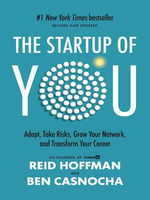 Click this cover for a(n) eBook sample of The Start-Up of You.