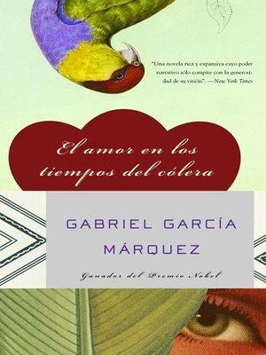 El Amor en los Tiempos de Cólera book cover