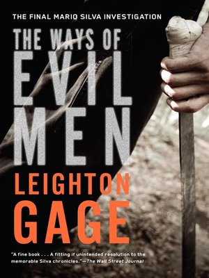 Click this cover for a(n) eBook sample of The Ways of Evil Men