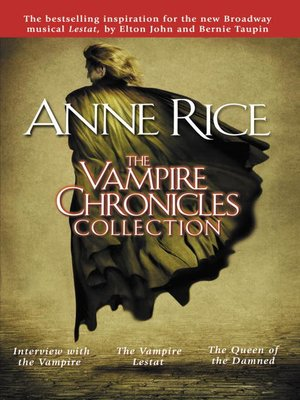 Click this cover for a(n) eBook sample of The Vampire Chronicles Collection