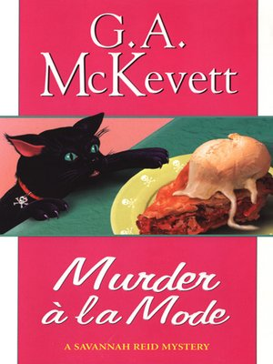 Cover of Murder à la Mode