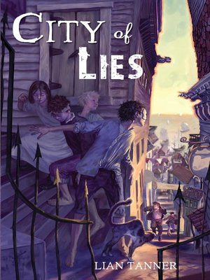 Click this cover for a(n) eBook sample of City of Lies.