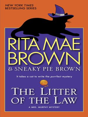 Click this cover for a(n) eBook sample of The Litter of the Law.