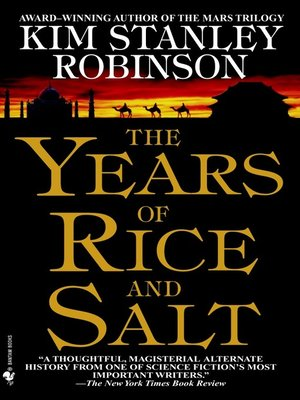 Click this cover for a(n) eBook sample of The Years of Rice and Salt.