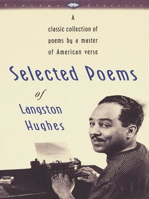 Cover of Selected Poems of Langston Hughes