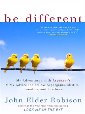 Click this cover for a(n) eBook sample of Be Different.