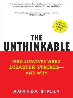 Click this cover for a(n) eBook sample of The Unthinkable
