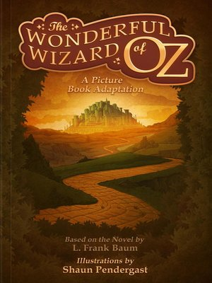 Click this cover for a(n) eBook sample of The Wonderful Wizard of Oz, a Picture Book Adaptation