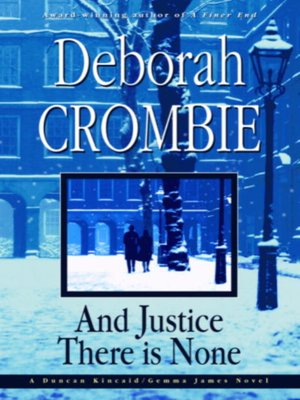 Click this cover for a(n) eBook sample of And Justice There Is None.