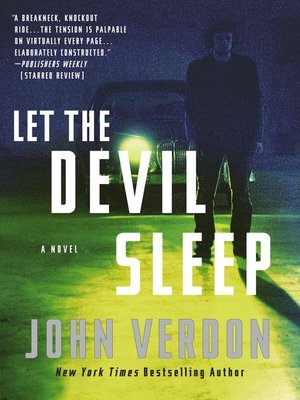 Click this cover for a(n) eBook sample of Let the Devil Sleep (Dave Gurney, No. 3)