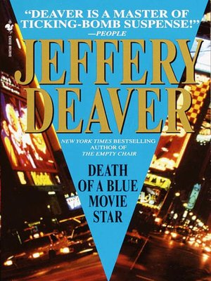 Click this cover for a(n) eBook sample of Death of a Blue Movie Star.