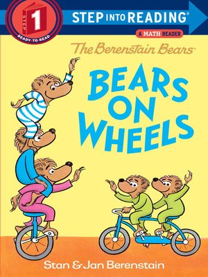 Cover of The Berenstain Bears Bears on Wheels