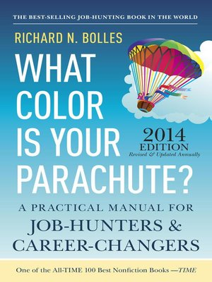 Click this cover for a(n) eBook sample of What Color Is Your Parachute? 2014.