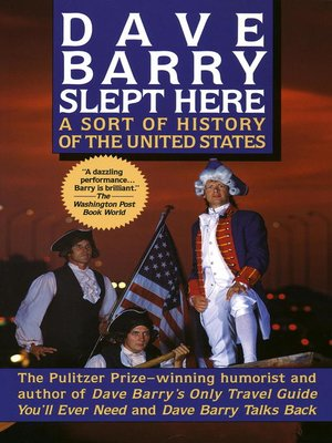 Click this cover for a(n) eBook sample of Dave Barry Slept Here.