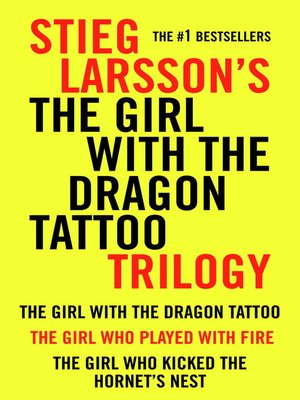 Cover of The Girl With the Dragon Tattoo Trilogy Bundle