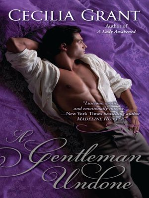 Click this cover for a(n) eBook sample of A Gentleman Undone.