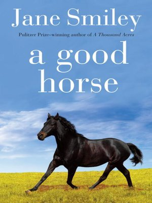Click this cover for a(n) eBook sample of A Good Horse