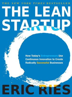 Click this cover for a(n) eBook sample of The Lean Startup.