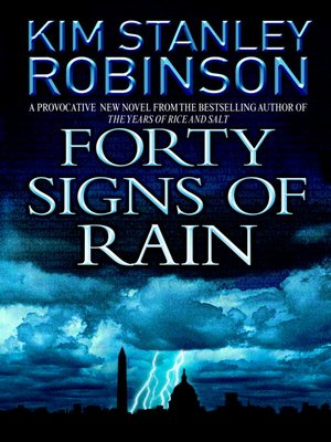 Click this cover for a(n) eBook sample of Forty Signs of Rain.
