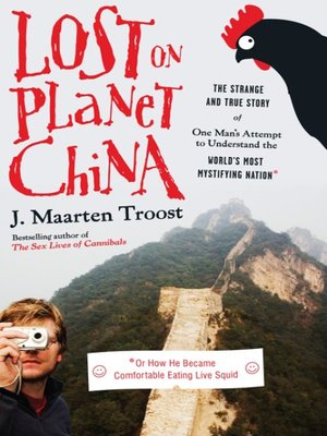 Click this cover for a(n) eBook sample of Lost on Planet China.