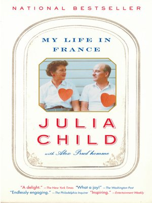 Click this cover for a(n) eBook sample of My Life in France.