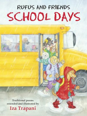 Click this cover for a(n) eBook sample of Rufus and Friends: School Days.