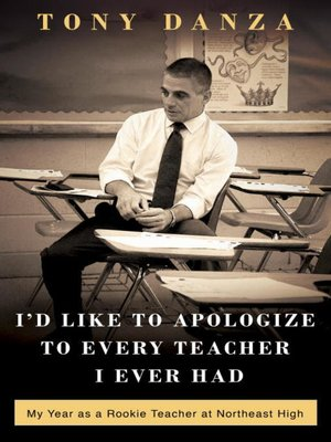 Cover of I'd Like to Apologize to Every Teacher I Ever Had