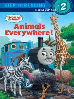 Click this cover for a(n) eBook sample of Animals Everywhere! (Thomas & Friends)