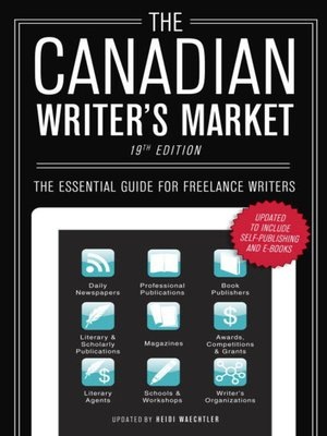 Cover of The Canadian Writer's Market