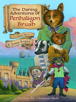 Click this cover for a(n) eBook sample of The Daring Adventures of Penhaligon Brush.